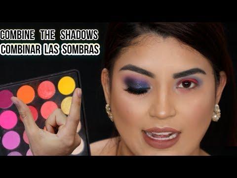 Como combinar las sombras de maquillaje para los ojos paso a paso para principiante