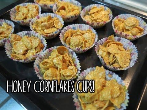 Honey Cornflakes Cups ♥
