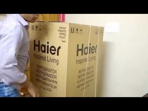 Haier Refrigerator Unboxing