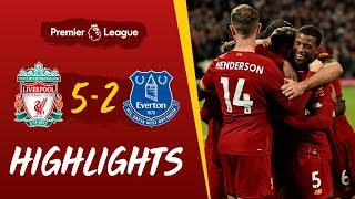 Liverpool 5-2 Everton | Five-star Reds win Merseyside derby | Highlights