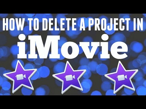 How to Delete a Project in iMovie