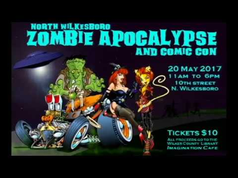 North Wilkesboro Zombie Apocalypse and Comic Con 2017 teaser