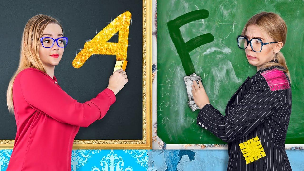 Rich Teacher vs Broke Teacher