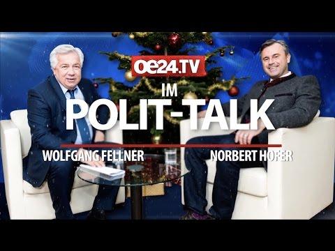 Norbert Hofer - oe24.tv-Weihnachts Interview - 23.12.2016