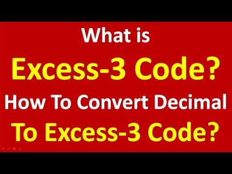 What is Excess-3 code in Hindi -