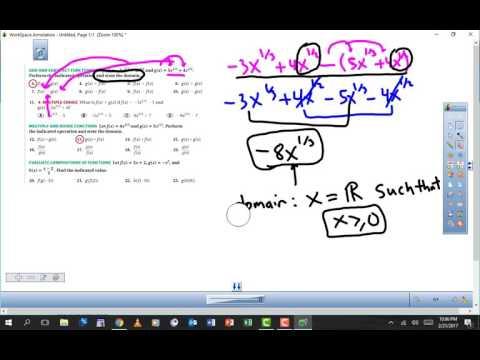 Lesson 3.3 Algebra 2 Homework Help