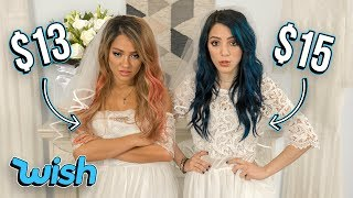Trying On Wedding Dresses Under 20 From Wish This Is What We Got
