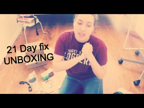 21 Day fix UNBOXING!
