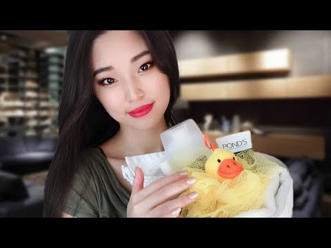 [ASMR] Cleaning You Before Bed Roleplay