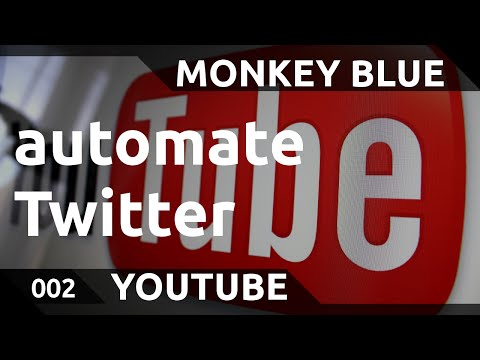 Youtube: how to connect Twitter to share videos automatically