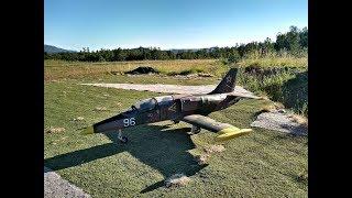 Last flight of the EL-39 second prototype