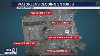 San Francisco supervisor says unfair communities lose Walgreens over rampant theft