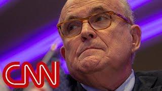 Report: Giuliani says Trump blocked AT&T, Time Warner merger