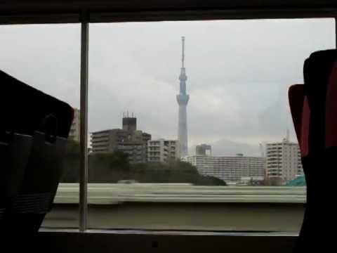 Tokyo Sky tree from Narita express