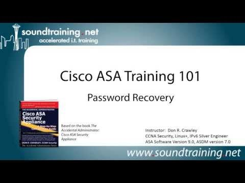 How to Reset Cisco ASA Passwords:  Cisco ASA Training 101
