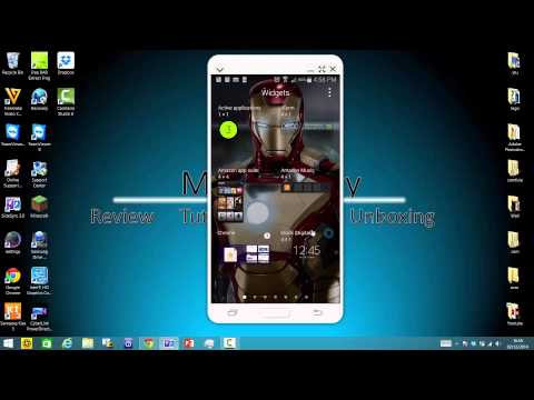 How To Add Widgets On Samsung galaxy Note 4/S5