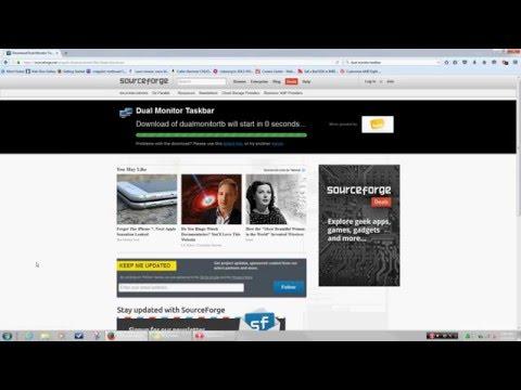 How to get dual taskbars on Windows 7
