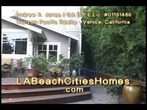 The Walk Streets . Venice Beach Real Estate Video Tour 1