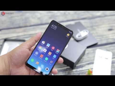 Đập hộp Xiaomi Mi8 đầu tiên tại TPHCM   Uchannel