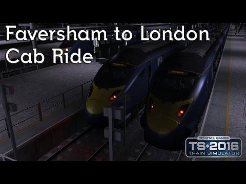 Train Simulator 2016: SouthEastern Class 395 Faversham to London St. Pancras Night Ride