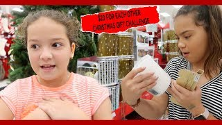 $20 CHRISTMAS  GIFT CHALLENGE FOR EACH OTHER AT TARGET | SISTER FOREVER