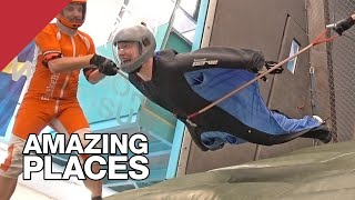 I Almost Learned To Fly In The World's Only Wingsuit Tunnel
