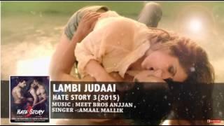 Hate Story 3 Songs | Arijit singh | Amaal Mallik | Zareen Khan, Sharman Joshi