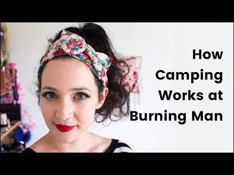 How Camping Works at Burning Man