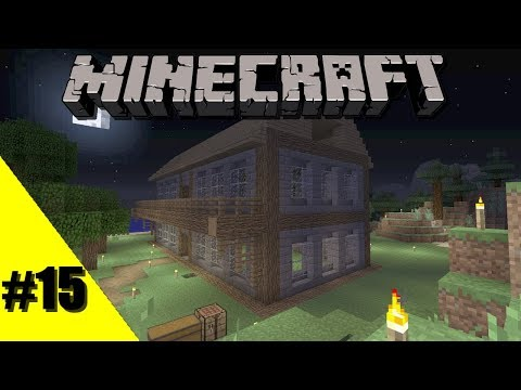 Lets Play Minecraft: Xbox One Survival: Episode 15: Building My House [Xbox One, 360, PS4, 3]