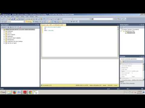 SQL Server 2012 tutorial 85: How to check database consistency with T-SQL