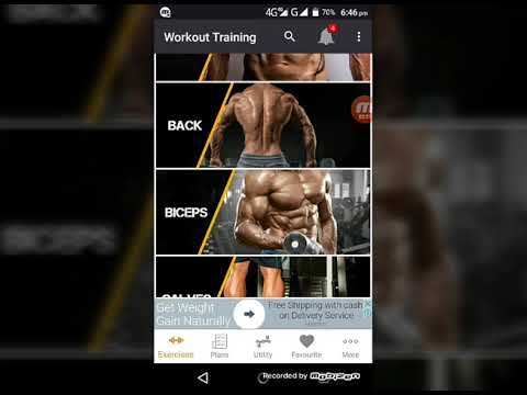 Best app for gym exercise