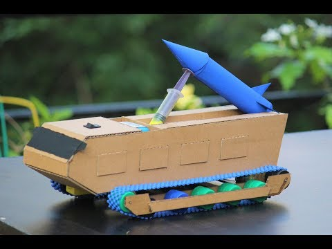 How to make a rocket launcher truck