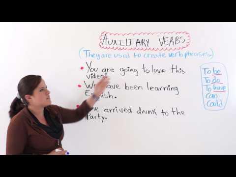 English Grammar: Auxiliary Verbs