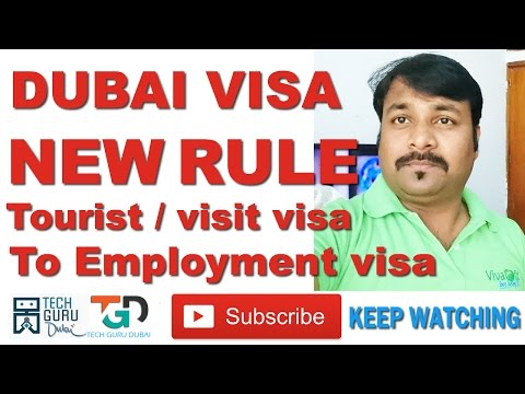 दुबई विसा का नया नियम | DUBAI VISA NEW RULE | HINDI URDU | TECH GURU DUBAI | Part 49