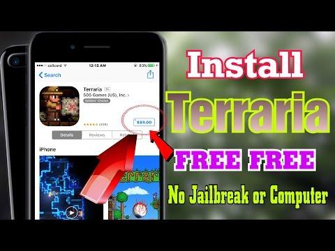 NEW Install Terraria Game FREE No Jailbreak/PC iOS 10-10.2.1 iPhone,iPad,iPod