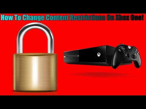 How To Change Content Restrictions On Xbox One