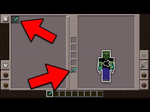 DUAL WIELDING in Minecraft Pocket Edition (InPVP Survival Games)