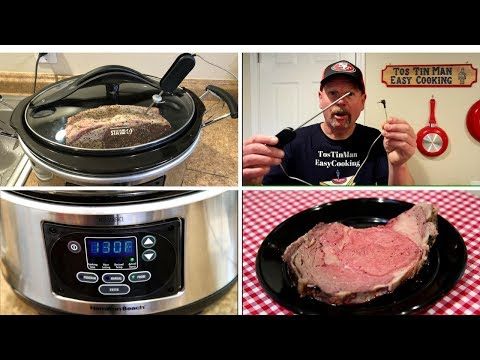 Rib Roast Hamilton Beach Slow Cooker