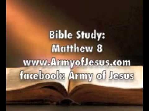 Bible Study: Matthew 8 Casting out demons devils evil spirits