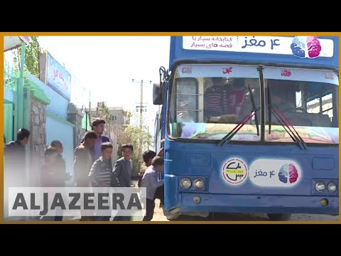 🇦🇫 Kabul library bus drives Afghan children to read | Al Jazeera English