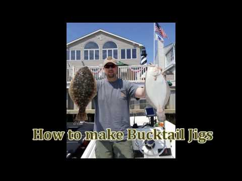 Make your own Bucktails!! (Part 1)