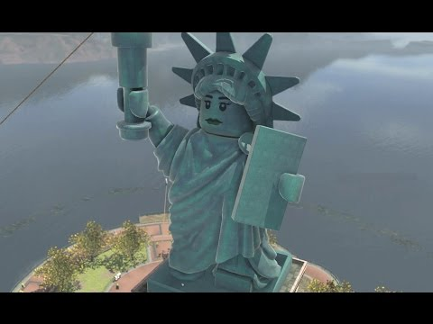 LEGO City Undercover - Lady Liberty Island 100% Guide (All Collectibles)