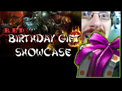 WHAT DO YOU GET in the Third Birthday Gift?? +Flame Dye Kit previews | Guild Wars 2