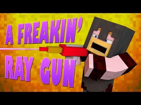 Minecraft Mods ★ A FREAKIN' RAY GUN ★ Crazy Craft 2 [Ep.7]
