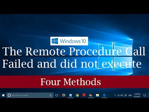 'The remote procedure call failed and did not execute' Error in Windows 10 [4 Methods to Fix]