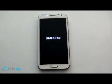 Samsung Galaxy Note 2  - GT N7100 hard reset