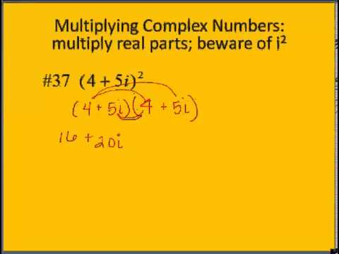 2 4 Complex Numbers