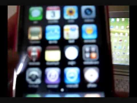 khmer menu in  iphone 3GS