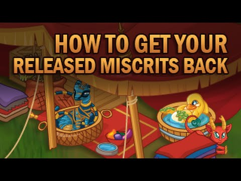 How To Get Your Released Miscrits Back