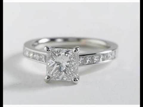 Engagement Rings Princess Cut Gold UK